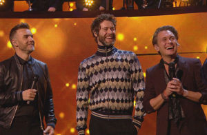 Take That Children in Need 2016.