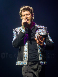 Howard Donald en la gira Wonderland