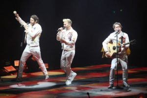 Take That en Liverpool. Wonderland Tour
