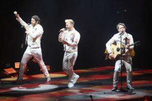 Take That en Liverpool. Wonderland Tour