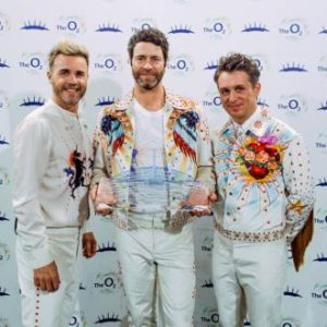 Take That Premio O2 Wonderland Live