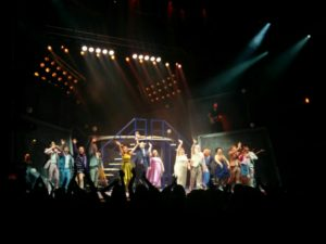 Opening night The Band Musical by Take That