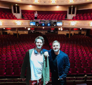 Gary Barlow Y Howard Donald en Aberdeen The Band Musical